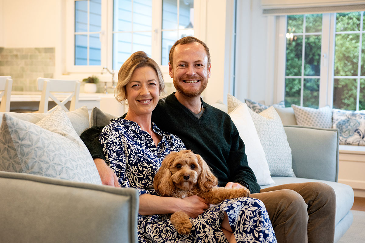 Meet the owners of a Hamptons Haven